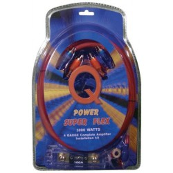 QPower 4GA Wire kit